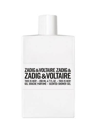 Zadig&Voltaire This is Her! 200 ml Kadın Parfüm Duş Jeli Renksiz